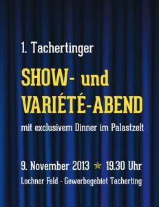 Download Flyer Show- und Variete-Abend